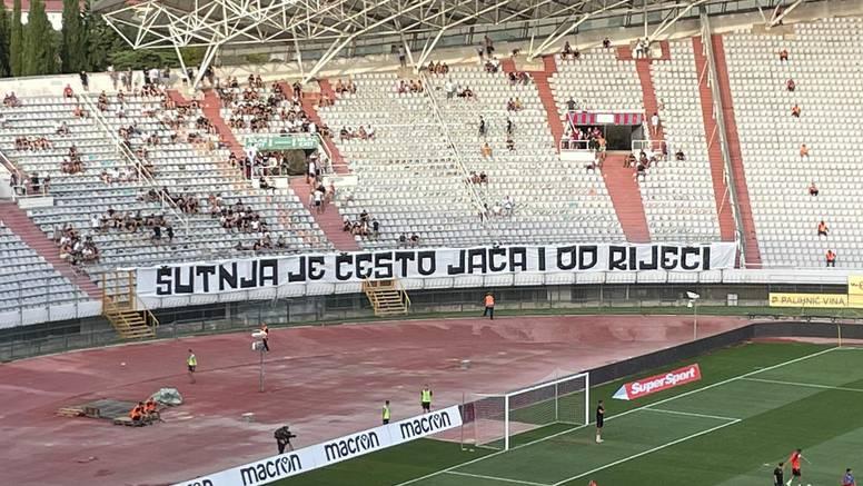 Muk na Poljudu: Torcida poslala poruku igračima Hajduka...