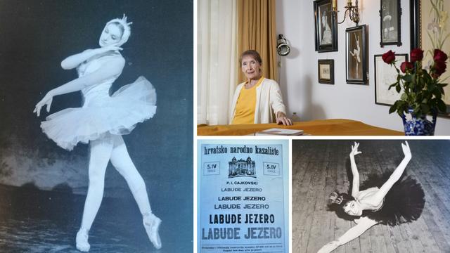 Maja Bezjak: Prva Zagrepčanka koja je u jednoj predstavi sama otplesala Bijelog i Crnog labuda