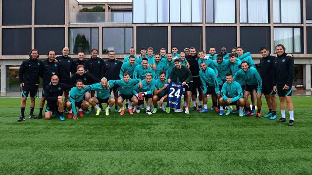 Eriksen posjetio kolege u Interu