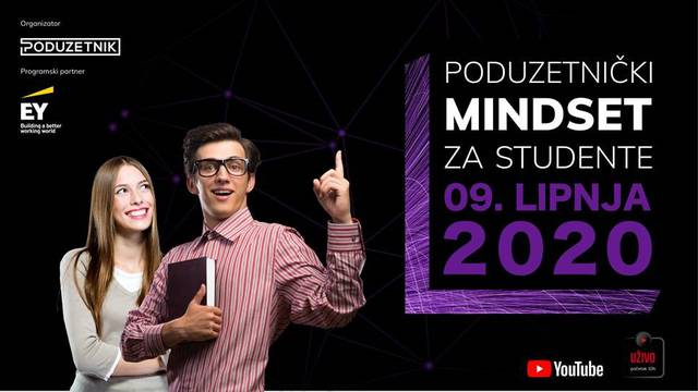 Poduzetnički mindset za studente: uspješni poduzetnici dijelit će svoja znanja mladima