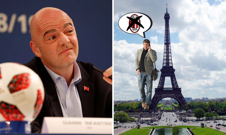 Infantino: Boban u Milanu? Ma vezat ću ga za Eiffelov toranj!
