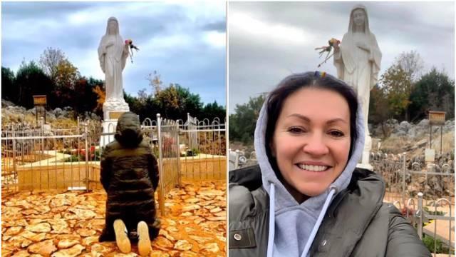 Nina u Međugorju okinula selfie s Gospom: 'Ja ću otvoriti srce...'