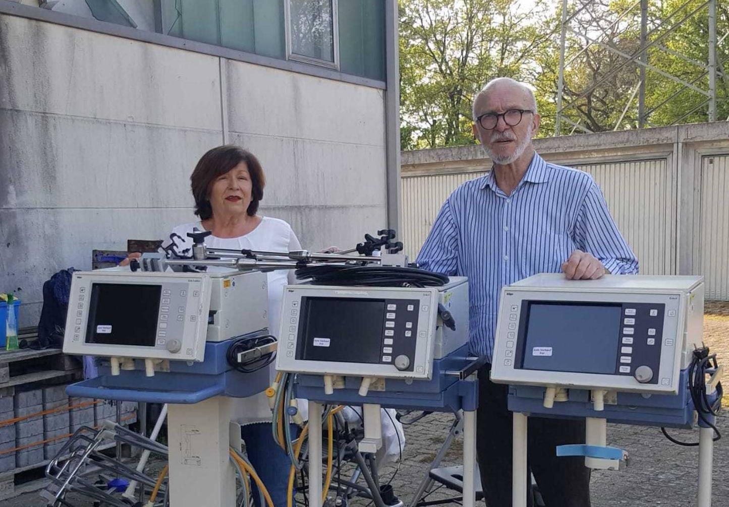 Donacija Hrvata iz Njemačke: U Labin stižu tri respiratora