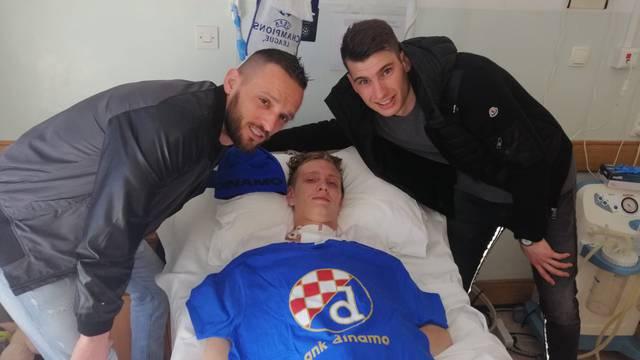 Livaković i Zagorac posjetili i ohrabrili stradalog Sokača...