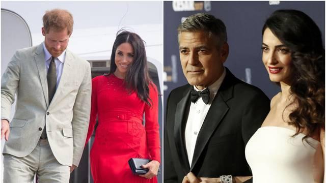 'George i Amal su uvjereni da će biti kumovi kraljevskoj bebi'