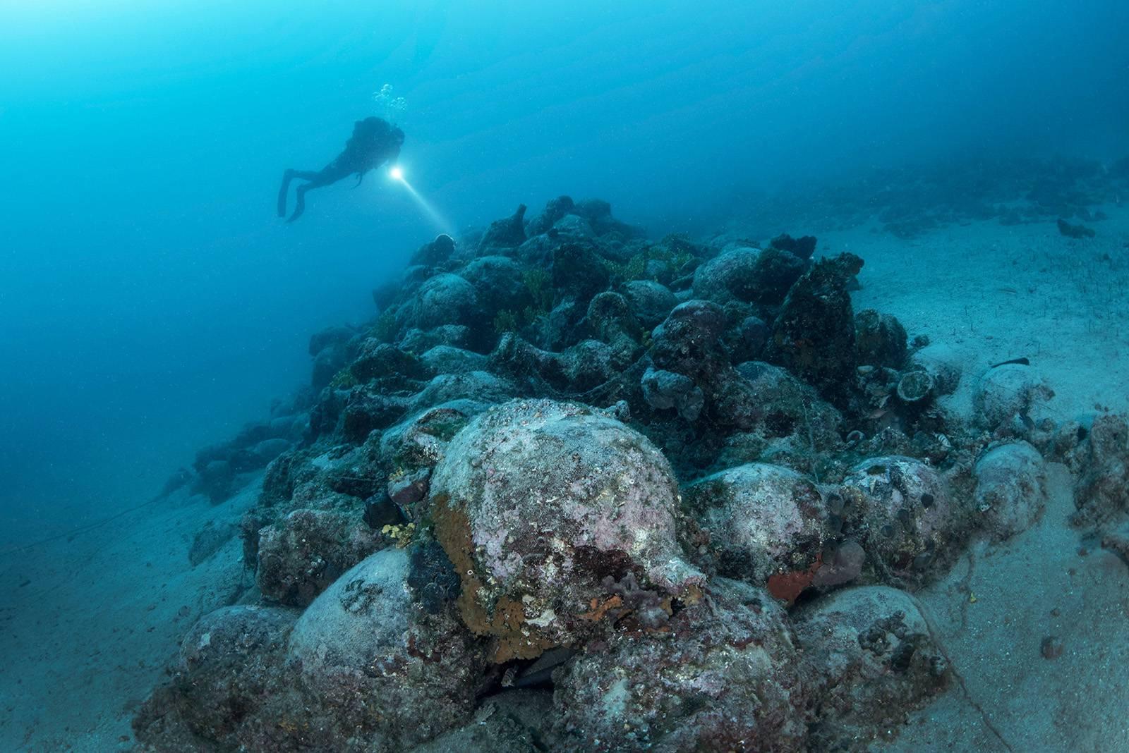 'Mi ronimo, kad ono - Rimljani' Kod Paga našli rimsku olupinu
