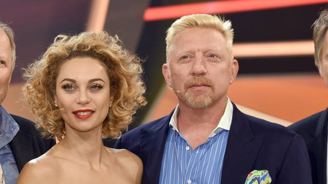 Quiz show - Paarduell XXL - Boris Becker and wife Lilly