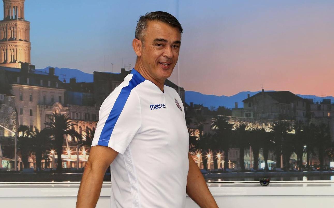 Split: Damir Burić novi je trener Hajduka