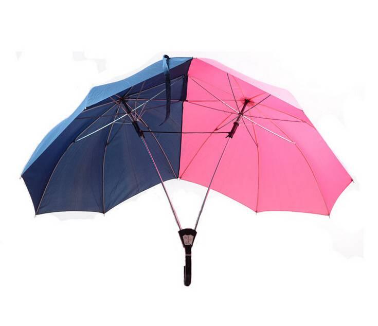 Kišobran za parove: Urnebesno izgleda ali 'oboje ćete biti suhi'