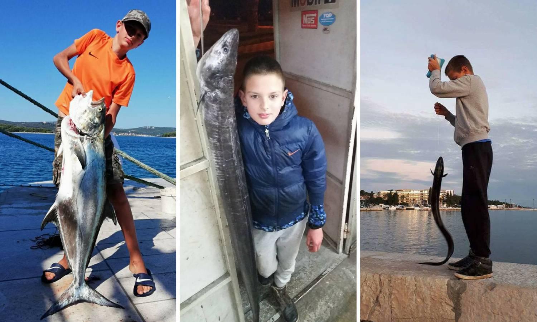 Mali rekorder: Svakog tjedna Stipan (13) ulovi po pet riba