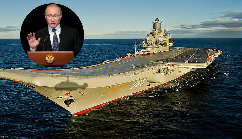 Ruska flota započela je vojne vježbe u istočnom Sredozemlju