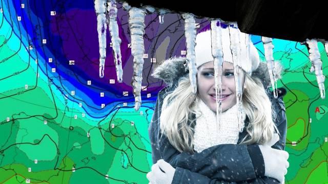 Izvadite jakne, bit će i snijega