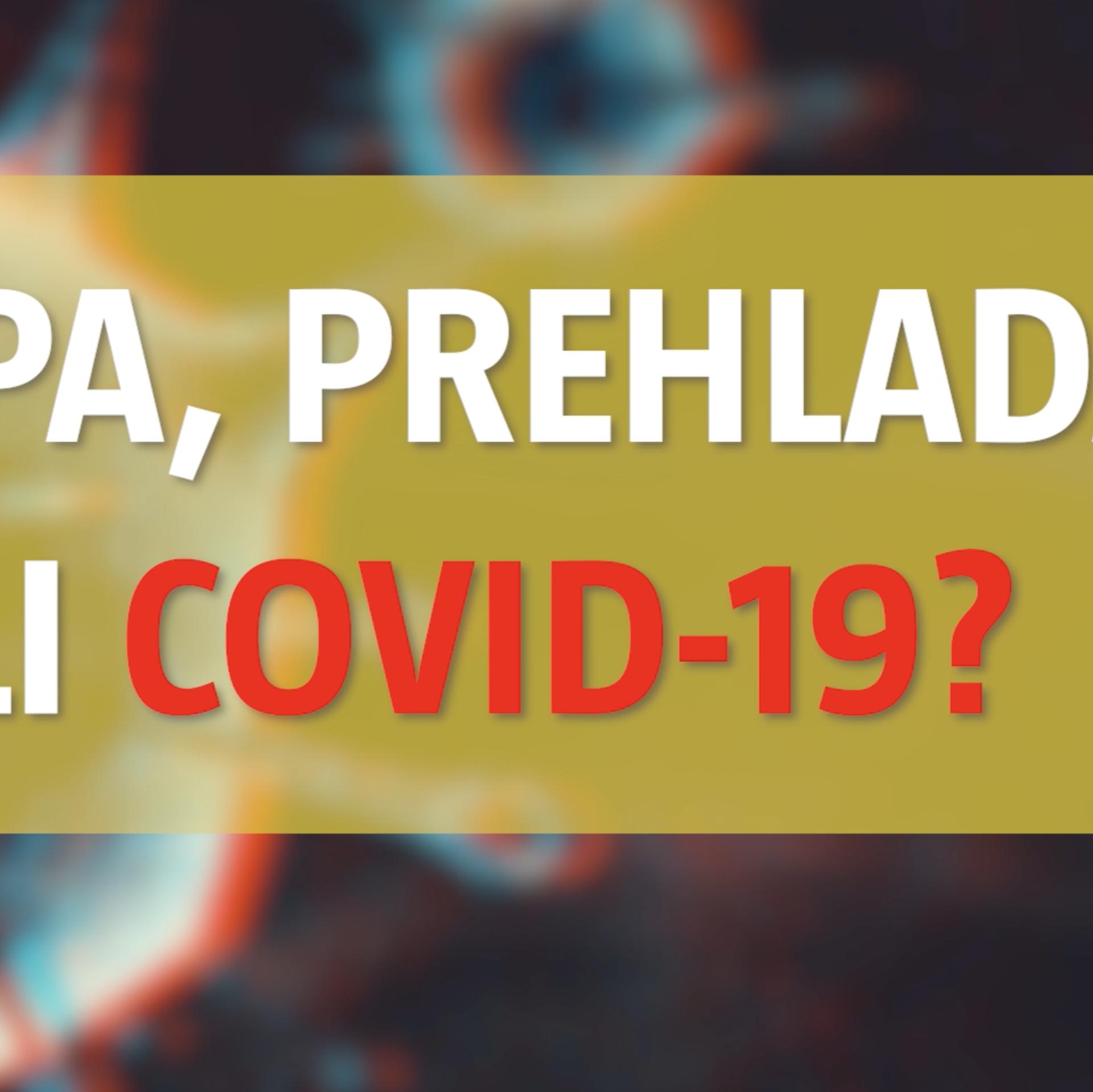 Gripa, prehlada ili Covid-19? Evo kako prepoznati simptome