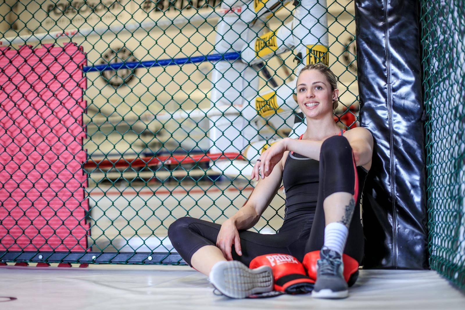 Dala otkaz na poslu i posvetila se MMA-u: Sara u novoj borbi