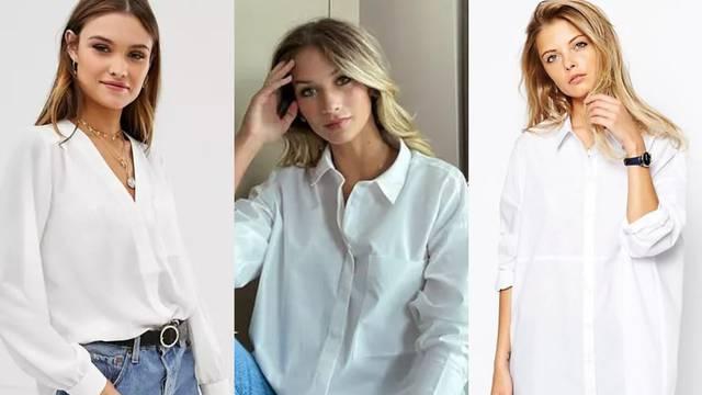 Bijela košulja kao osnova raznih stilova: Od boho do poslovnog