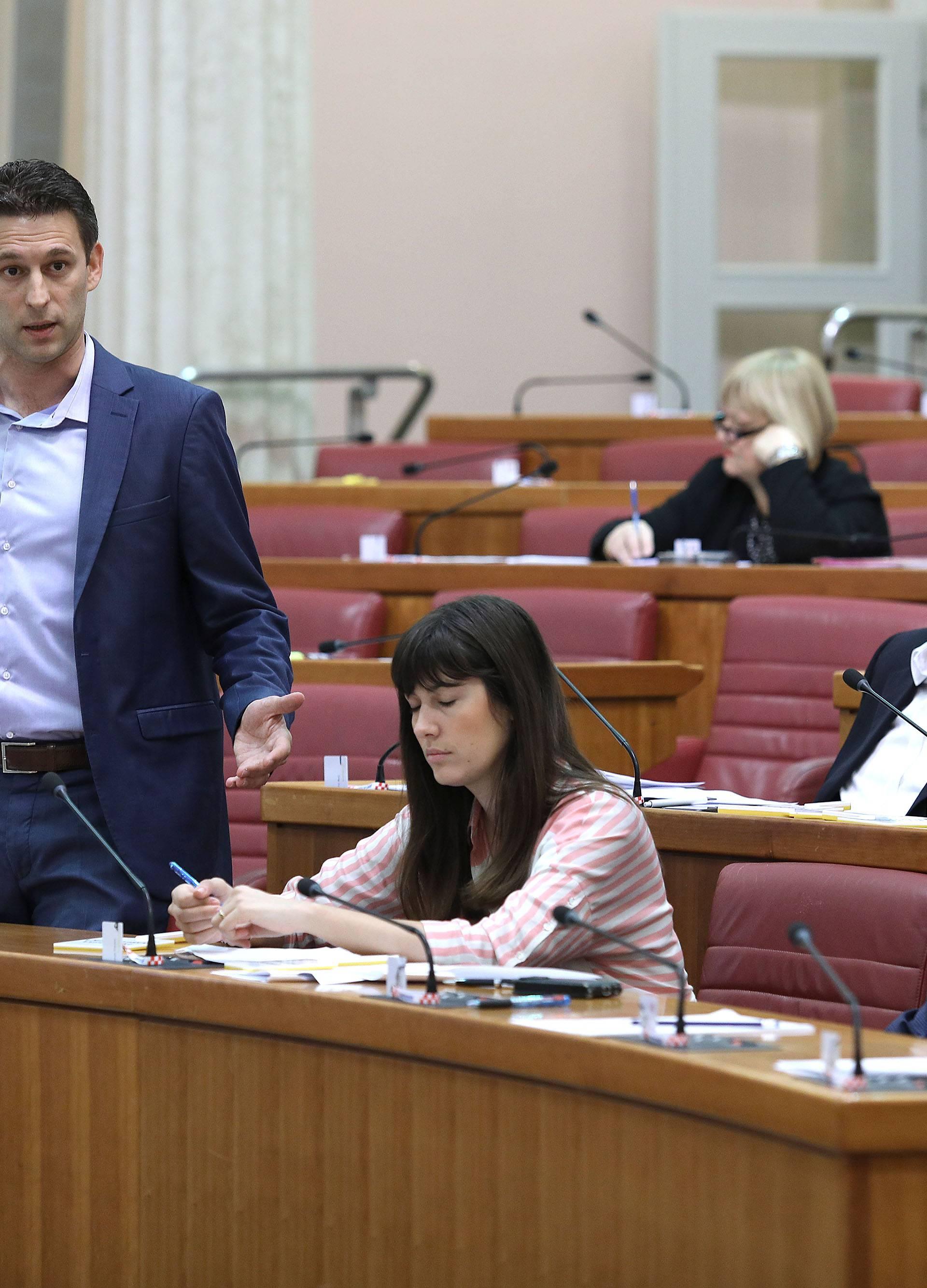 Zagreb: Sabor počeo raspravu o mirovinskoj reformi