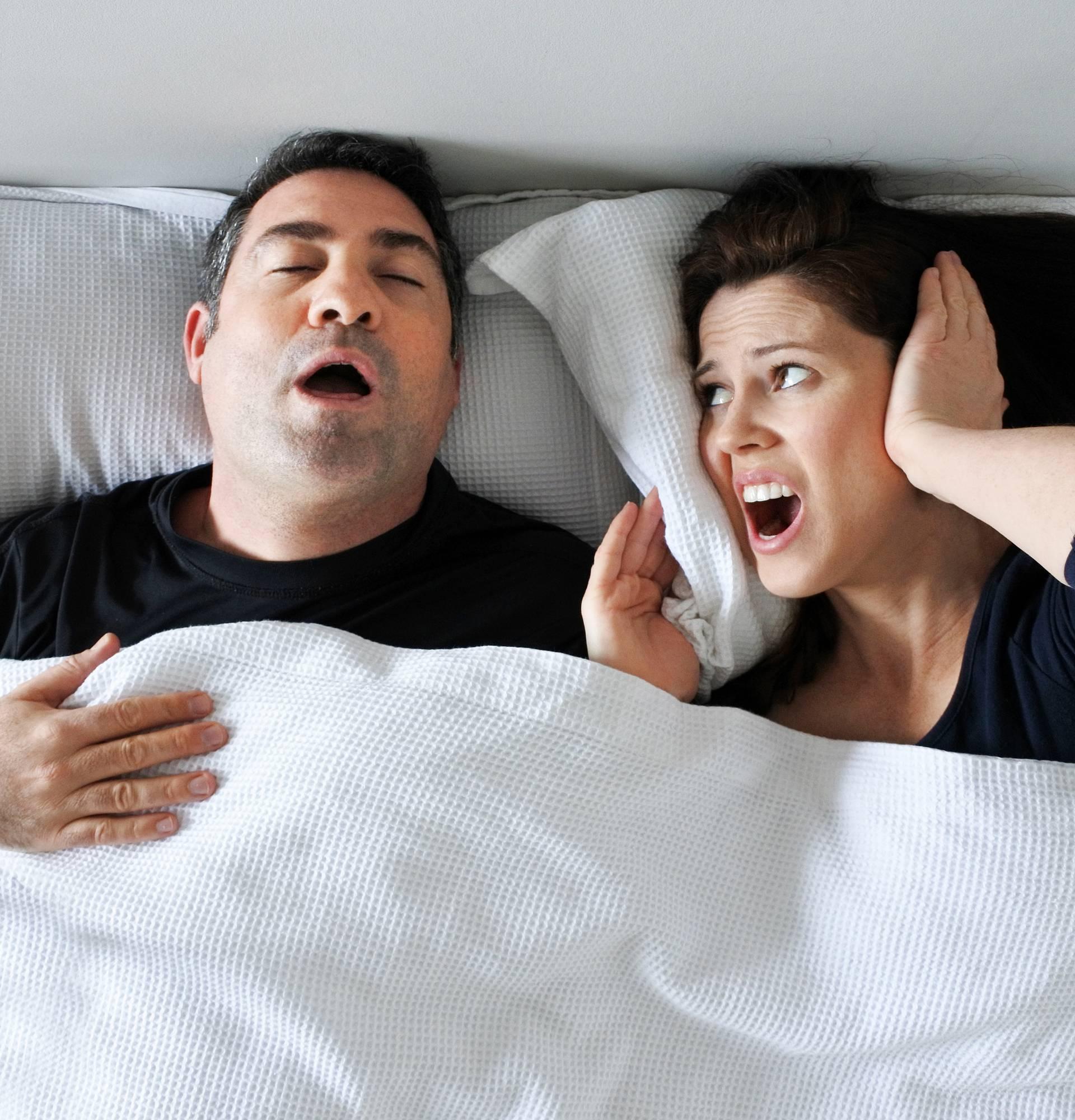 Zbog partnerovog hrkanja i vi možete imati visoki krvni tlak