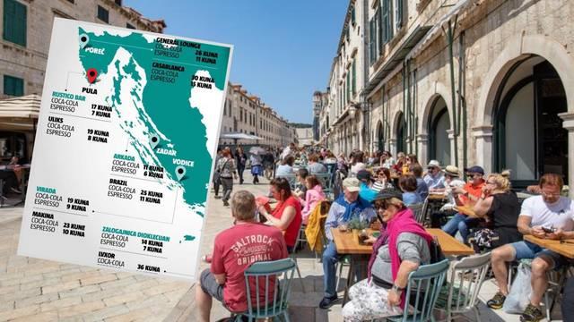 Treba samo prošetati: Kava na Jadranu ne mora biti skupa...