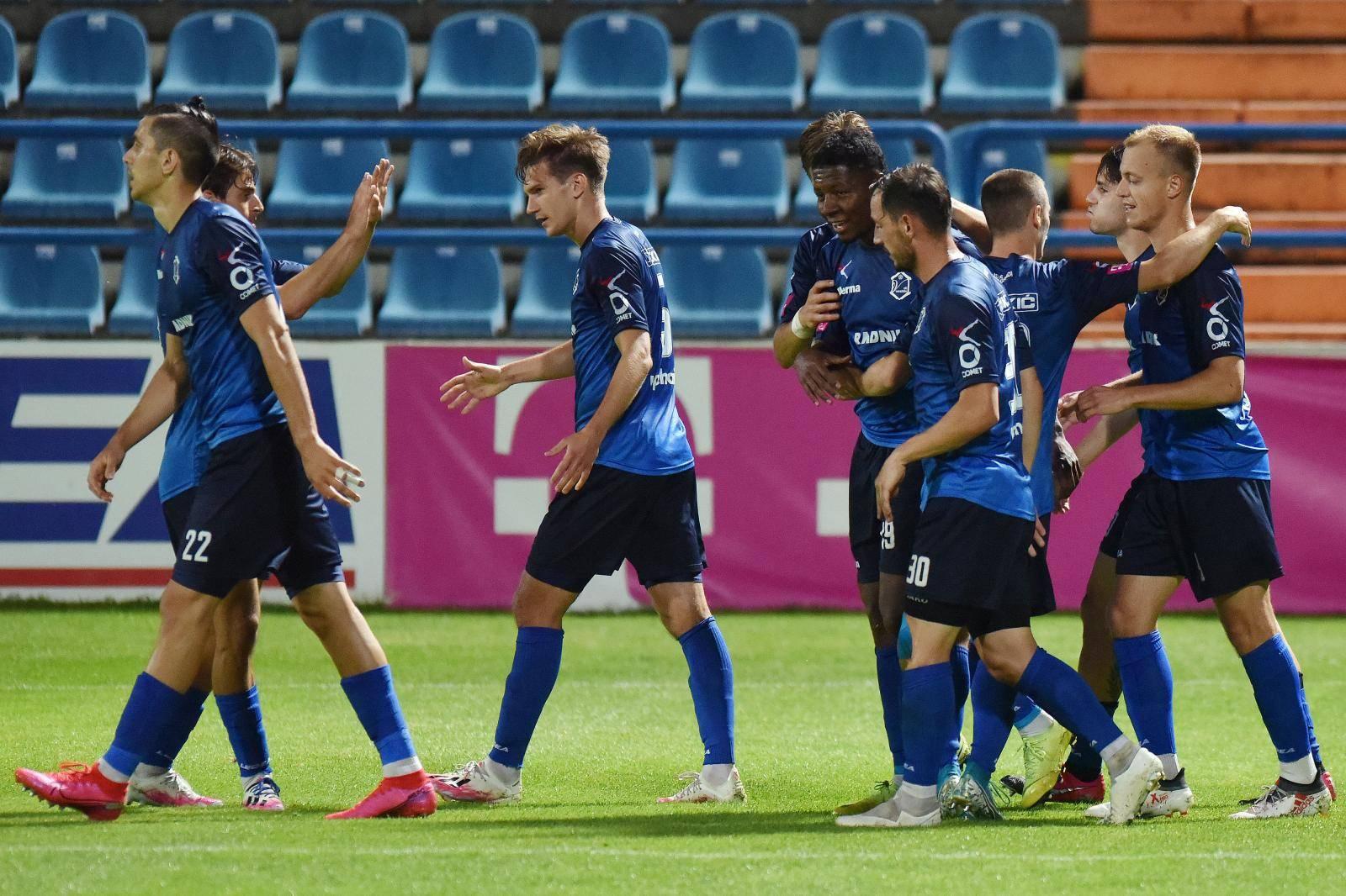 Pula: NK Varaždin i NK Inter Zaprešić sastali se u 31. kolu Prve HNL