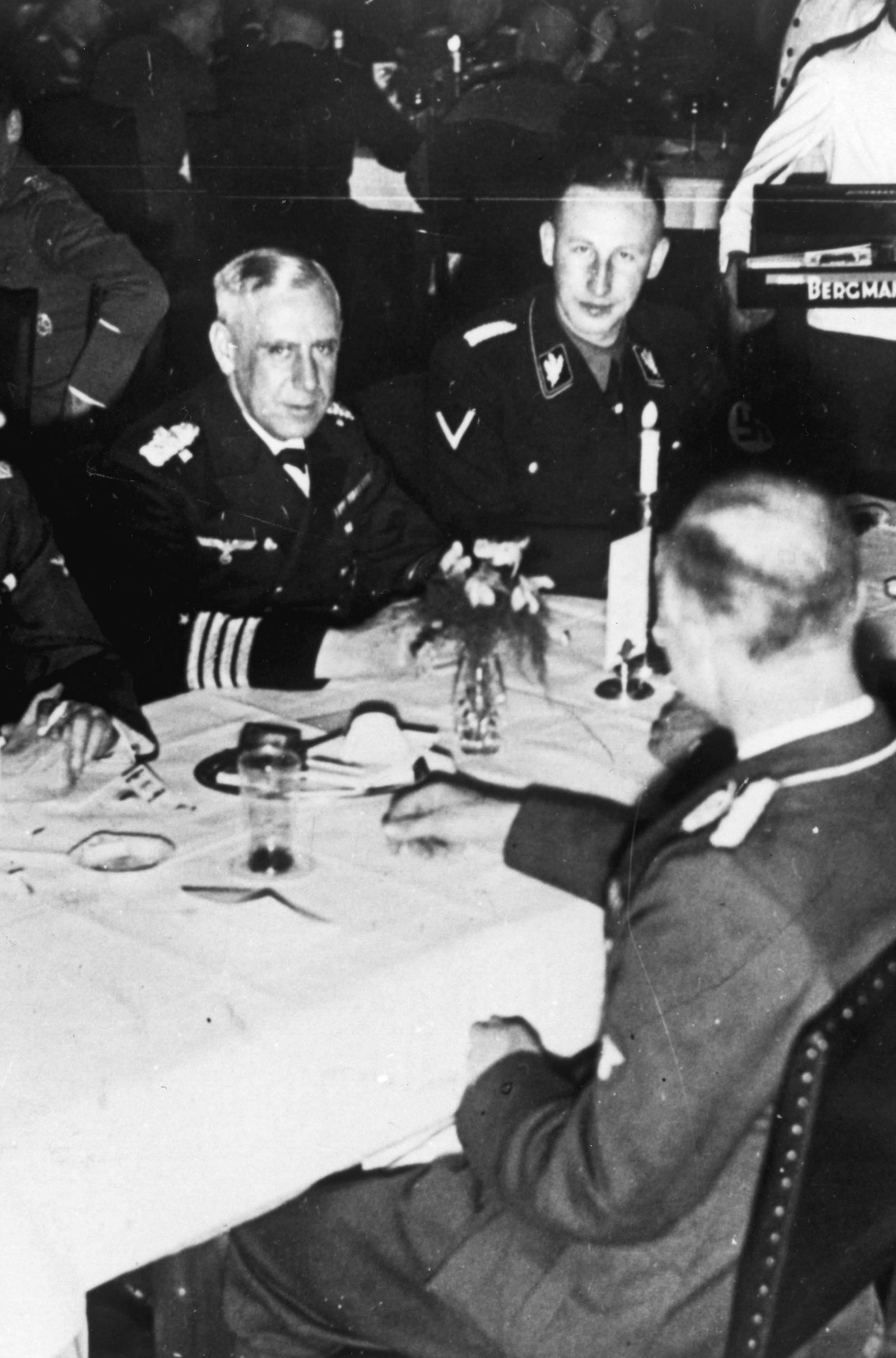 Heydrich u. Canaris / Kameradschaftsabend