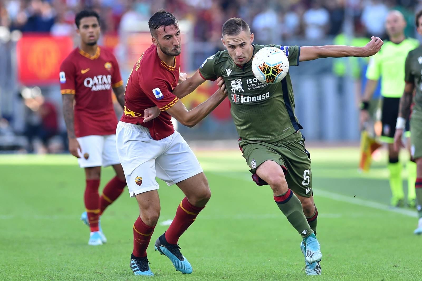 Serie A Rome v Cagliari Rome (Italy) October 06th 2019