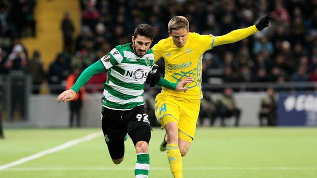 Europa League Round of 32 First Leg - Astana vs Sporting CP