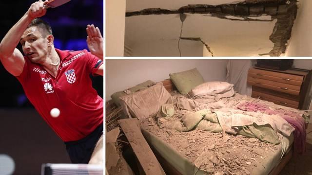 Drama našeg olimpijca: Mami je u sobi strop pao na krevet!