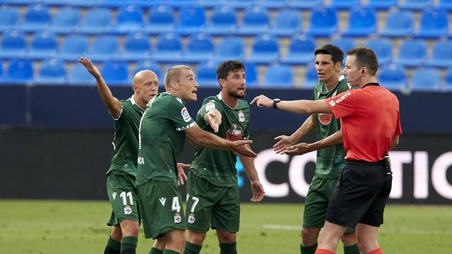 MALAGA CF v RC DEPORTIVO CORUNA. LA LIGA SMARTBANK 2019/2020. ROUND 39.