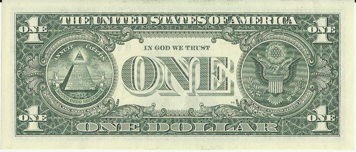 Zašto je piramida na novčanici od jednog američkog dolara?