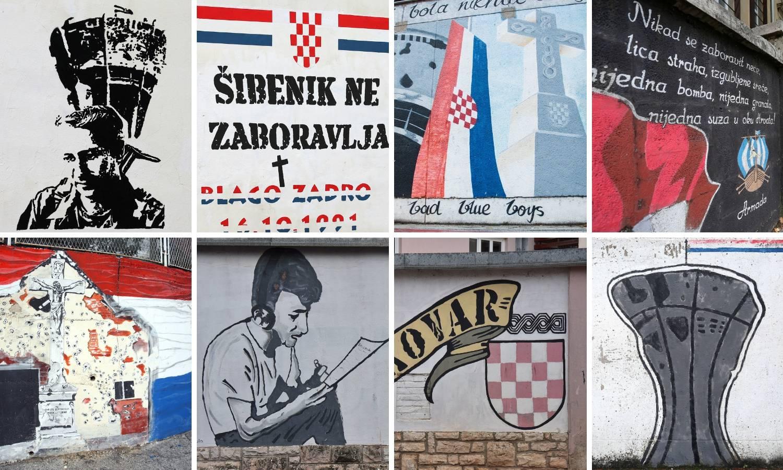 Murali po cijeloj Hrvatskoj kao podsjetnik na žrtvu Vukovara
