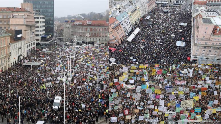 MUP bez brojki, sindikati: 'Na Trgu je bilo preko 50.000 ljudi!'