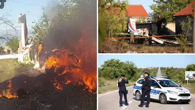 Šok u Biljanima: 'Avion je pao 50 metara od mene  i izgorio'