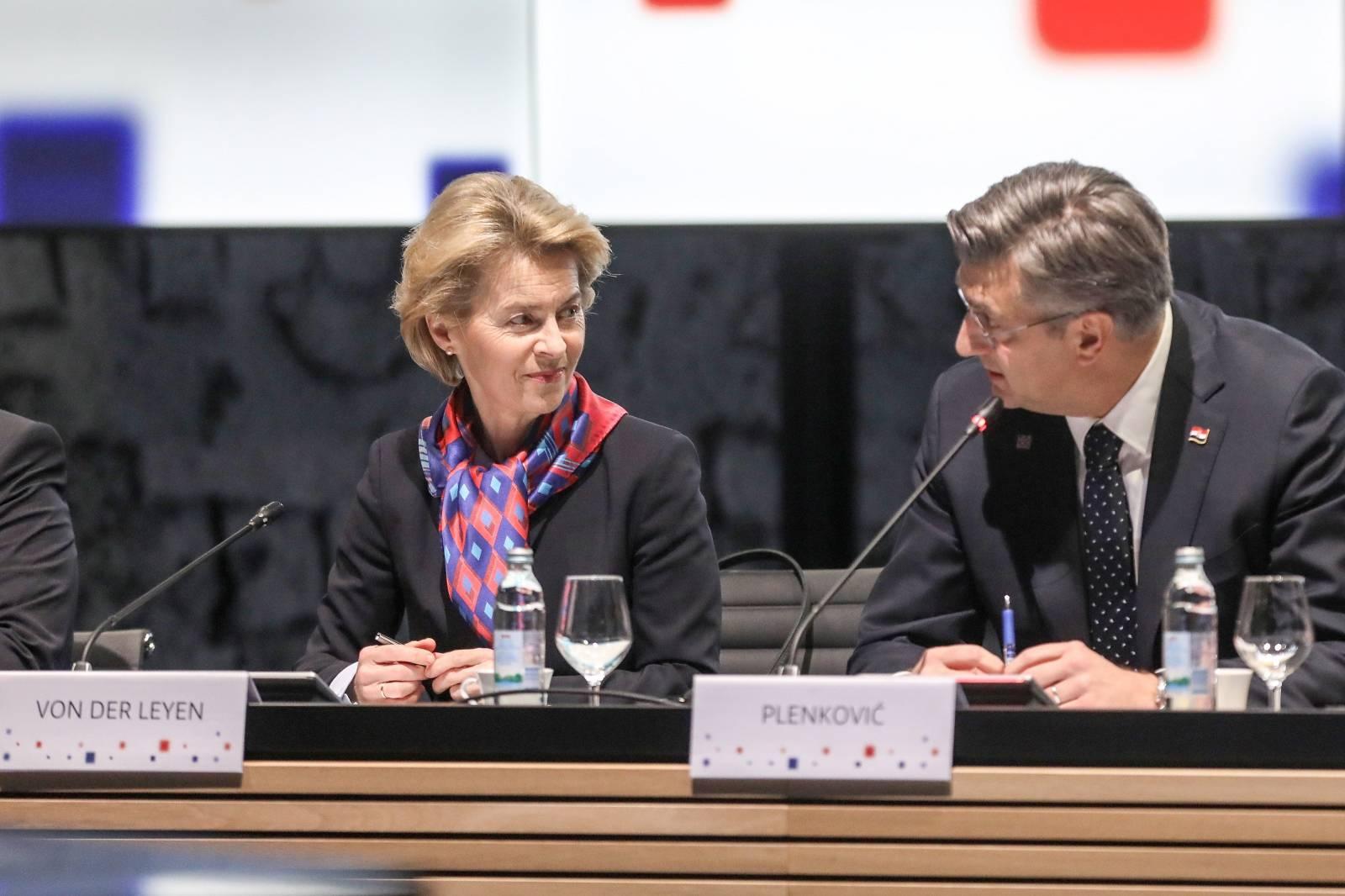 Zagreb: Sastanak članova Europske komisije sa članovima hrvatske Vlade