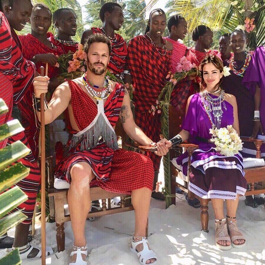 Seve se pohvalila vjenčanicom: 'Ovo je naša afrička svadba'