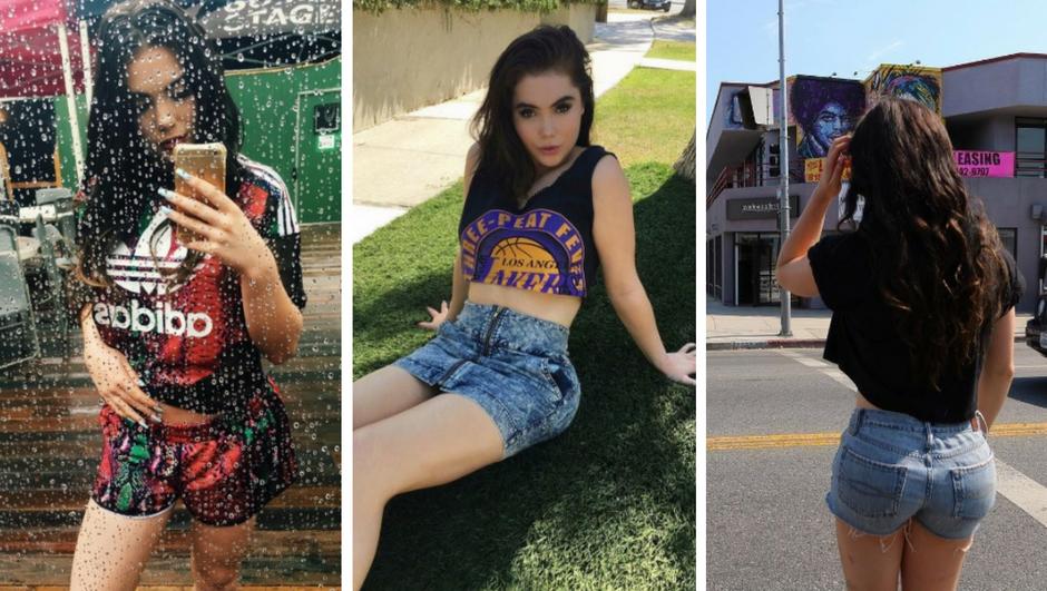Slavna gimnastičarka danas je najzgodnija podrška Lakersima