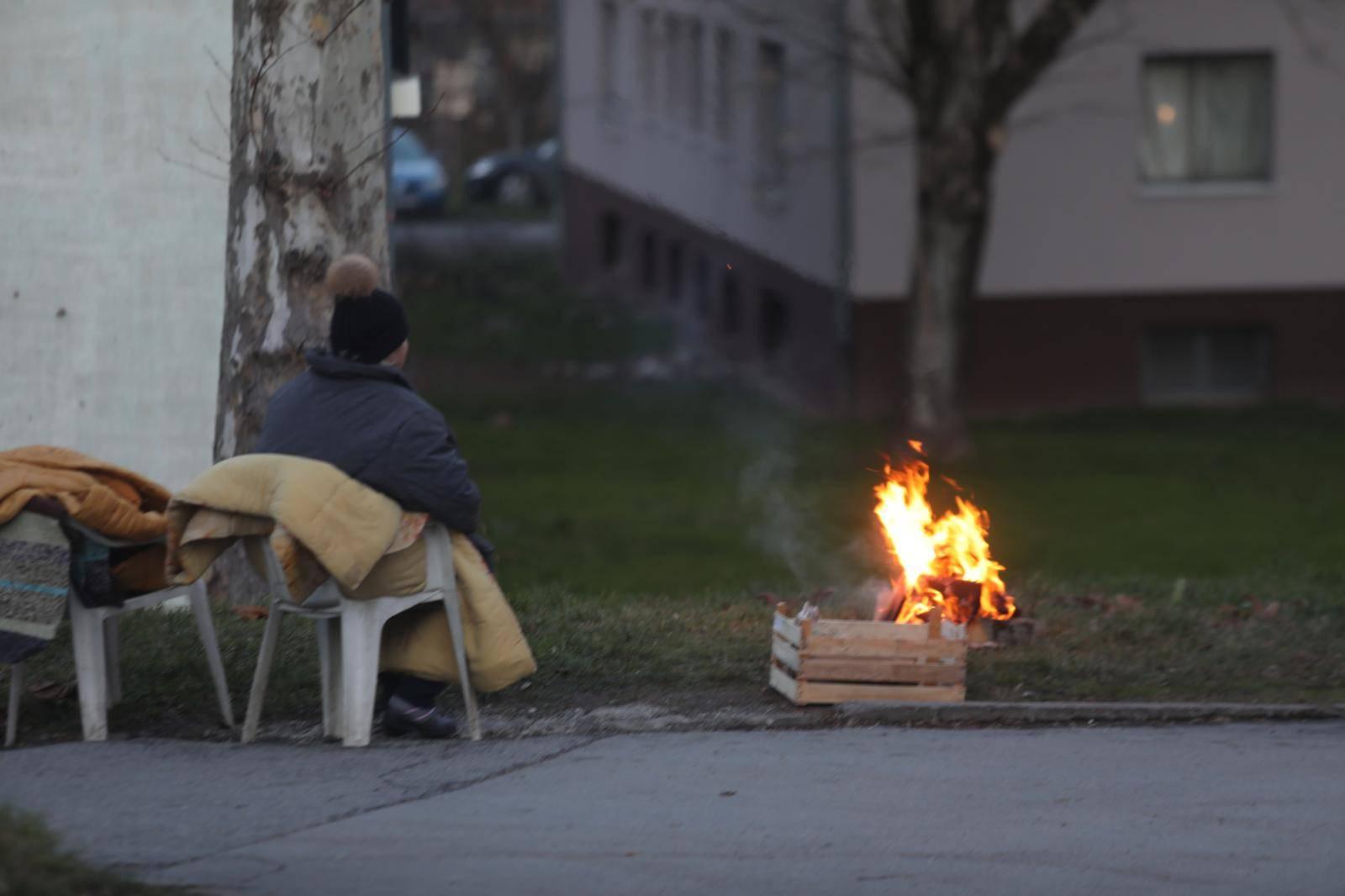 Situacija u Sisku tijekom večeri