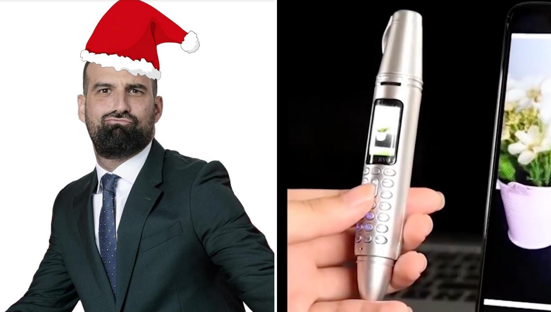 Kod njega je Božić uranio: Ivan Šarić fanovima dijeli poklone...