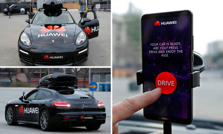 Huawei pokazao kako i telefon može voziti Porscheovu jurilicu