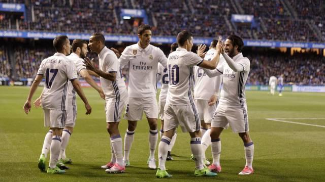 Football Soccer- Spanish La Liga Santander - Deportivo v Real Madrid