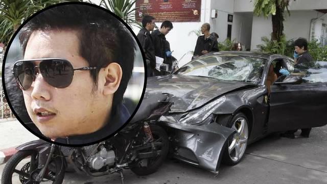 Razmaženi playboy Ferrarijem ubio policajca i vukao mu tijelo
