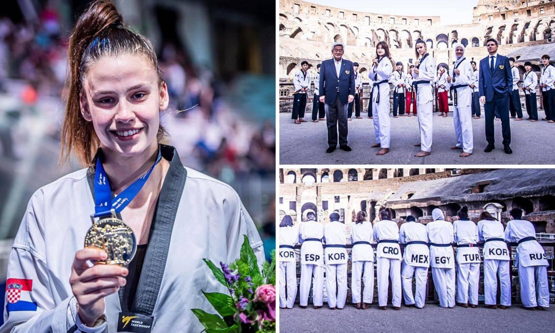Za povijest: Matea Jelić dobila je zlato u rimskom koloseumu!