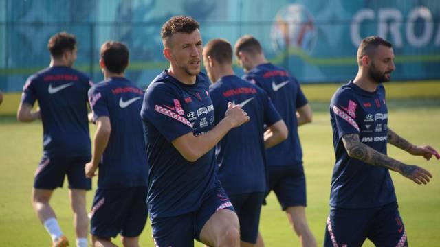 Popodnevni trening hrvatske nogometne reprezentacije u Rovinju
