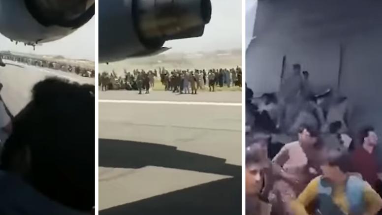 Pronašli su ljudske ostatke na kotačima aviona na koji su se penjale stotine Afganistanaca