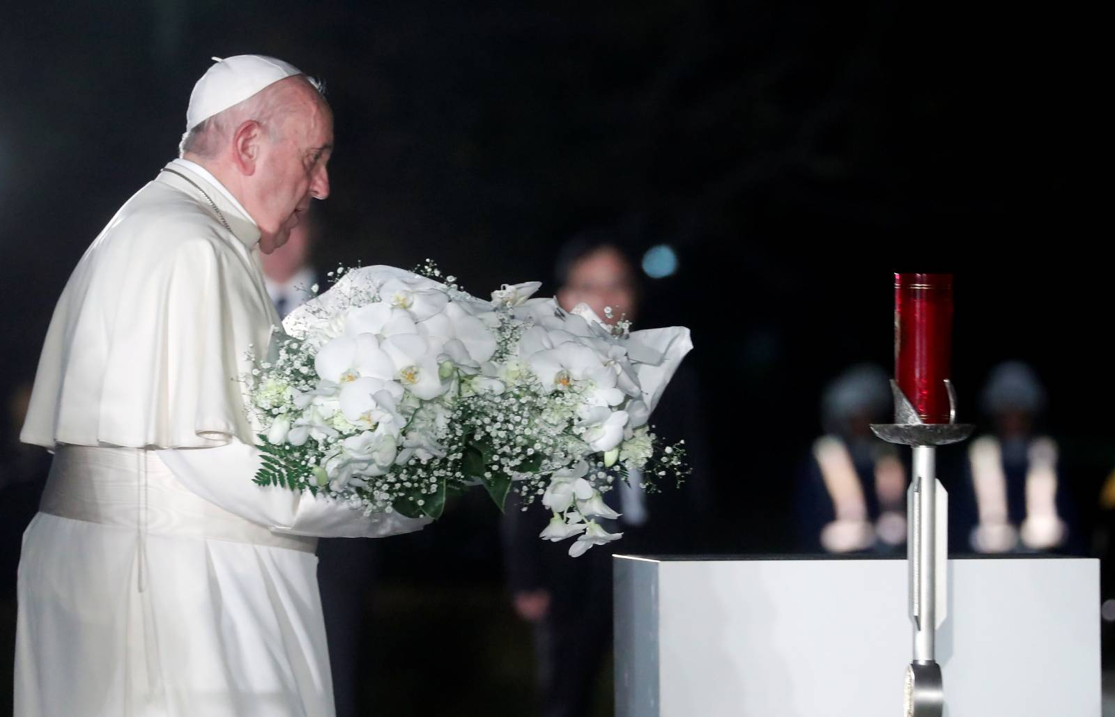 Pope Francis visits Japan