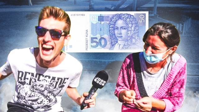 Molio prolaznike u Zagrebu da ga nasmiju pa im dao 50 kuna: Jedna cura ga je šokirala...