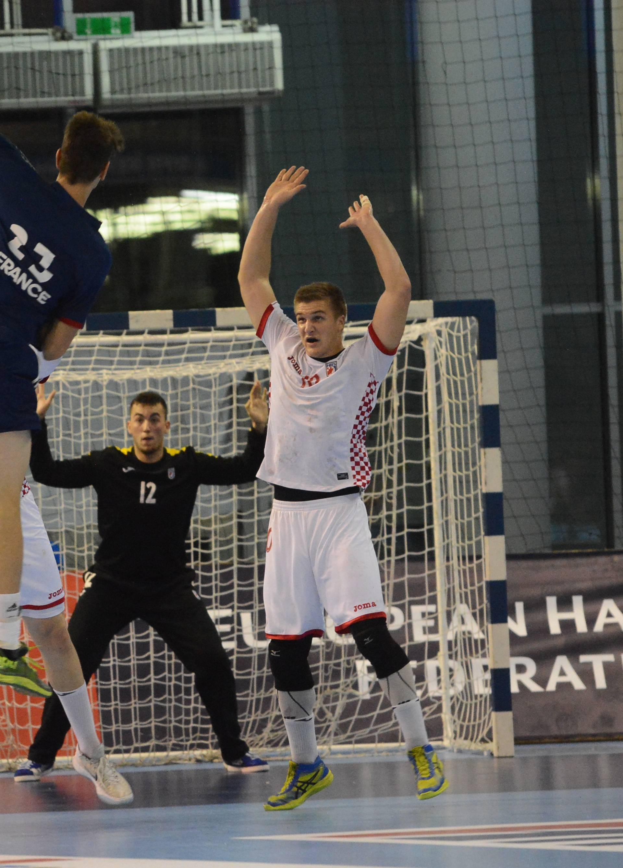 Koprivnica: Rukometaši Hrvatske u 5. kolu Europskog kadetskog prvenstva igrali protiv Francuske