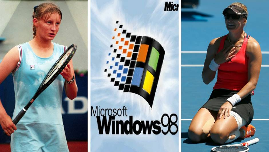 Kad su Serena i Mikica zadnji put igrale izašao Windows 98