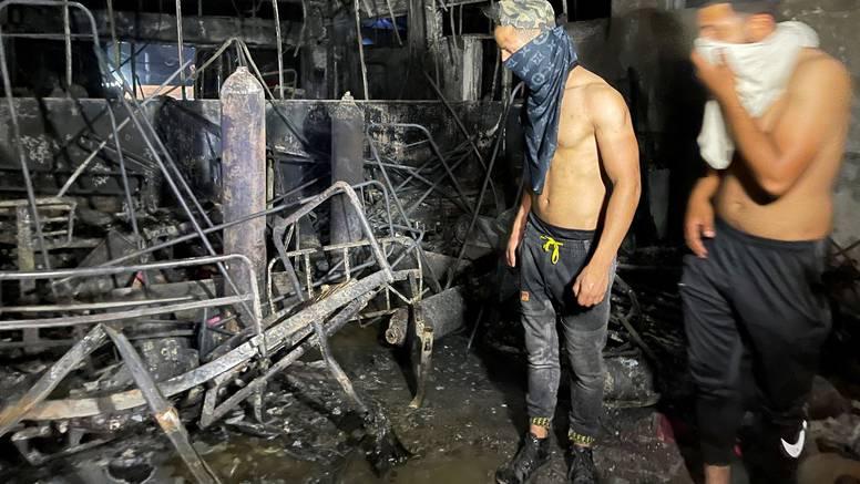 Irački premijer suspendirao ministra zdravlja nakon požara u bagdadskoj covid bolnici
