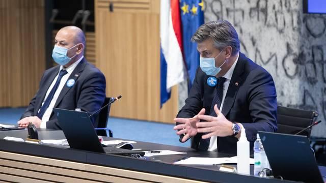 Zagreb: Nakon završetka sjednice Vlade održana je konferencija za medije