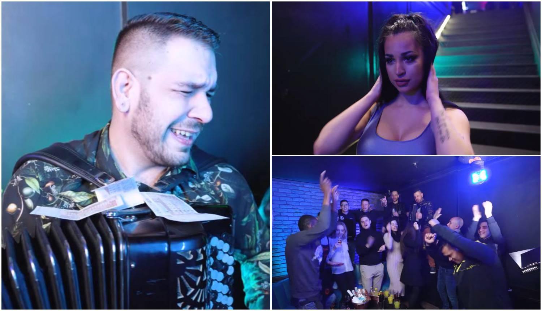 Playboy zečica Ena zaigrala je u spotu harmonikaša Nurkića...